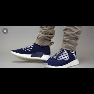 Adidas NMD CS2 blue and white
